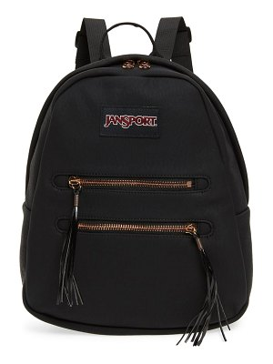 Jansport half pint 2 mini faux suede backpack
