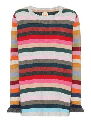 Jardin des Orangers striped wool-blend sweater