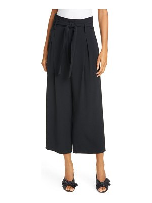 Jason Wu belted crop wide leg pants