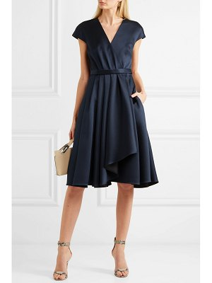 Jason Wu Collection belted wrap-effect satin dress