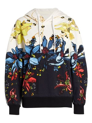 Jason Wu Collection floral hoodie