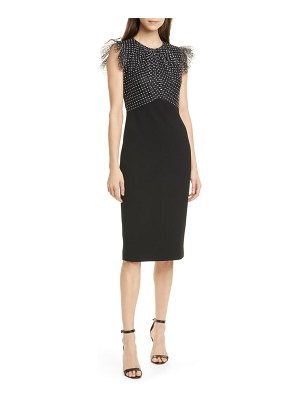 Jason Wu Collection stretch ponte dress