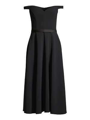 Jason Wu Collection off-the-shoulder stretch crepe midi dress