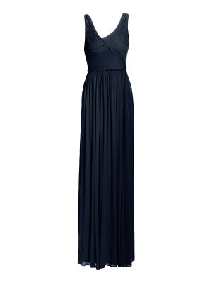Jason Wu Collection pleated sleeveless jersey gown