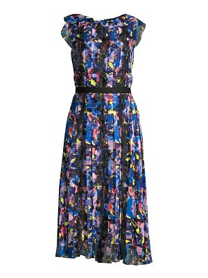 Jason Wu Collection printed chiffon day dress