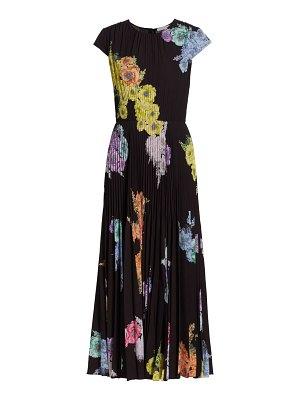 Jason Wu Collection printed pleated day dress