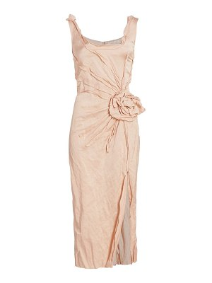 Jason Wu Collection washed sateen cocktail dress
