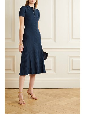 Jason Wu ribbed stretch-knit midi dress