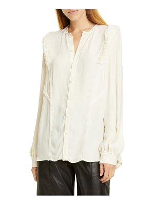 Jason Wu ruffle button-up blouse