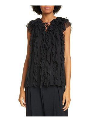 Jason Wu ruffle silk blouse