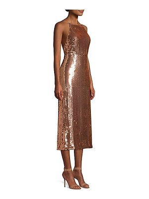 Jason Wu Collection sequined crisscross strap dress