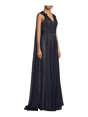 Jason Wu silk chiffon cape gown