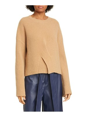 Jason Wu twist front cashmere sweater