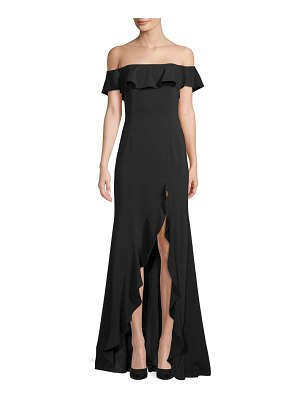 Jay Godfrey Balon Off-the-Shoulder Gown