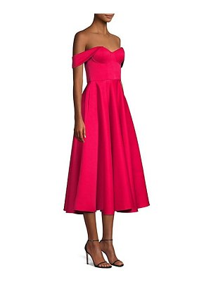 Jay Godfrey charlie off-the-shoulder cocktail dress