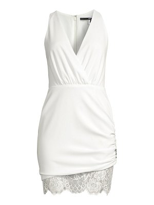 Jay Godfrey clifford ruched lace dress
