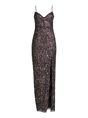 Jay Godfrey confetti sequin gown