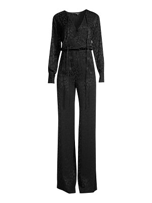 Jay Godfrey dennis animal-print jumpsuit