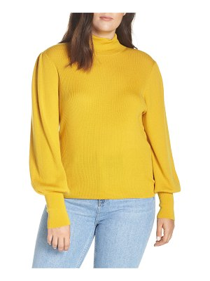 J.Crew balloon sleeve turtleneck sweater