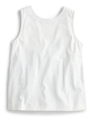 J.Crew bow back top