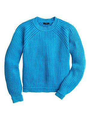 J.Crew garment washed crewneck sweater
