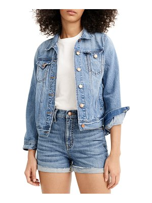 J.Crew high waist eco denim shorts