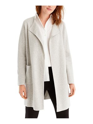 J.Crew juliette collarless sweater blazer