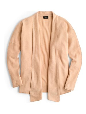J.Crew open front cashmere cardigan