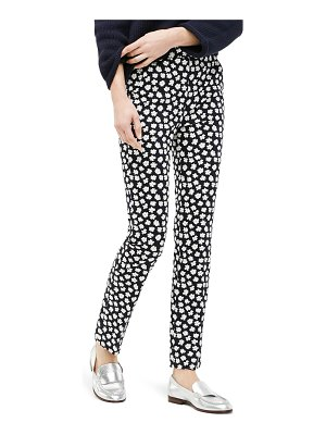 J.Crew remi scattered daisies print pants