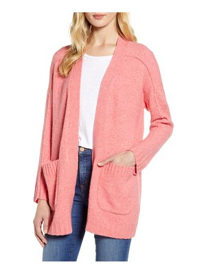 J.Crew supersoft yarn open cardigan