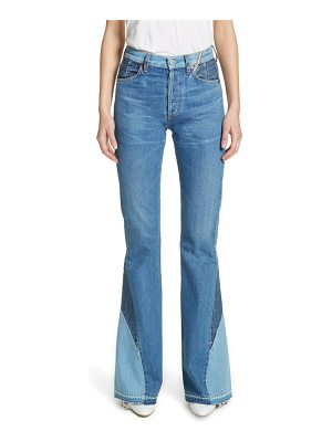 JEAN ATELIER janis high rise flare jeans