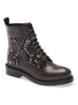 Jeffrey Campbell fischer lace-up leather boot