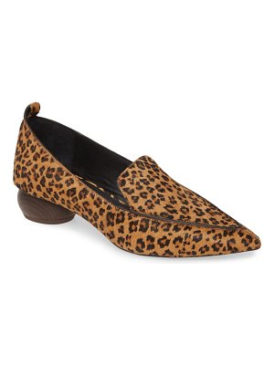 Jeffrey Campbell viona genuine calf hair loafer