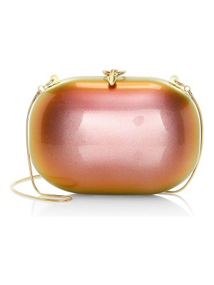 Jeffrey Levinson elina sunset pearl gloss clutch