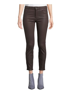Jen7 The Ankle Coated Skinny Jeans