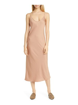 Jenni Kayne everyday bias cut satin slipdress