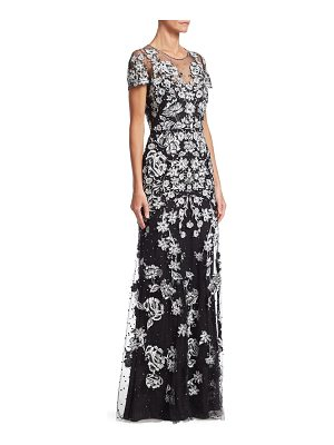 Jenny Packham beaded floral gown