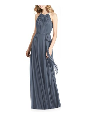 Jenny Packham beaded strap chiffon gown