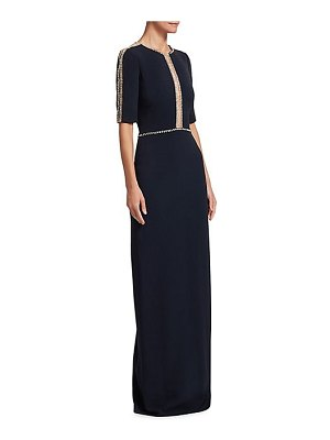 Jenny Packham embellished column gown