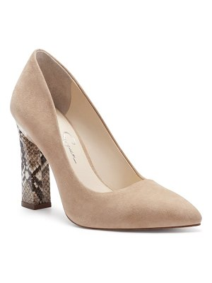 Jessica Simpson accie pointed toe pump