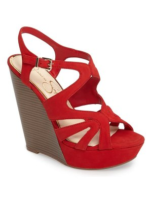 Jessica Simpson brissah wedge