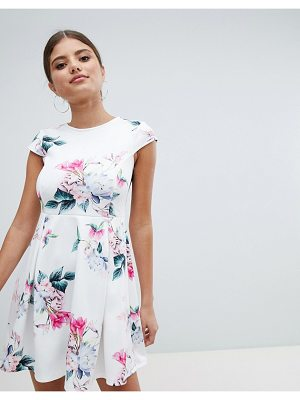 Jessica Wright floral skater dress