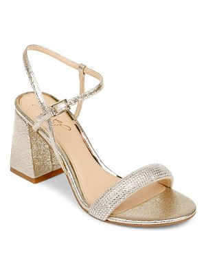 JEWEL BADGLEY MISCHKA earlene block heel sandal