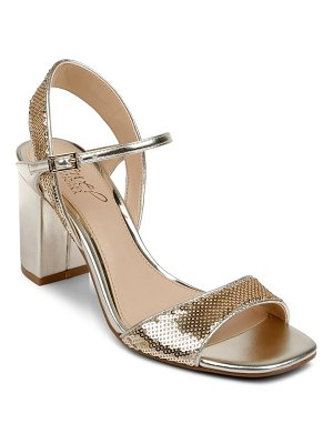 JEWEL BADGLEY MISCHKA irma block heel sandal