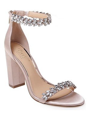 JEWEL BADGLEY MISCHKA jewel by badgley mischka mayra embellished ankle strap sandal