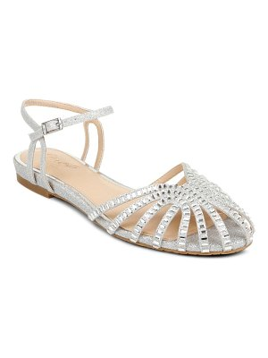 JEWEL BADGLEY MISCHKA perla ankle strap flat