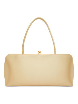 Jil Sander beige medium goji frame bag