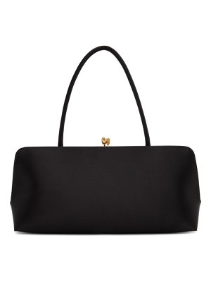 Jil Sander black medium goji frame bag