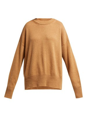 Jil Sander dropped sleeve cashmere sweater