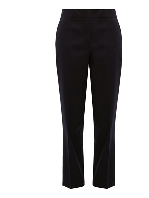 Jil Sander straight leg wool trousers